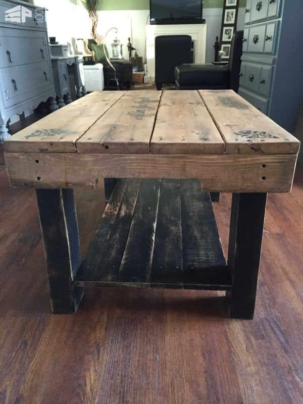 celtic pallet coffee table • pallet ideas • 1001 pallets