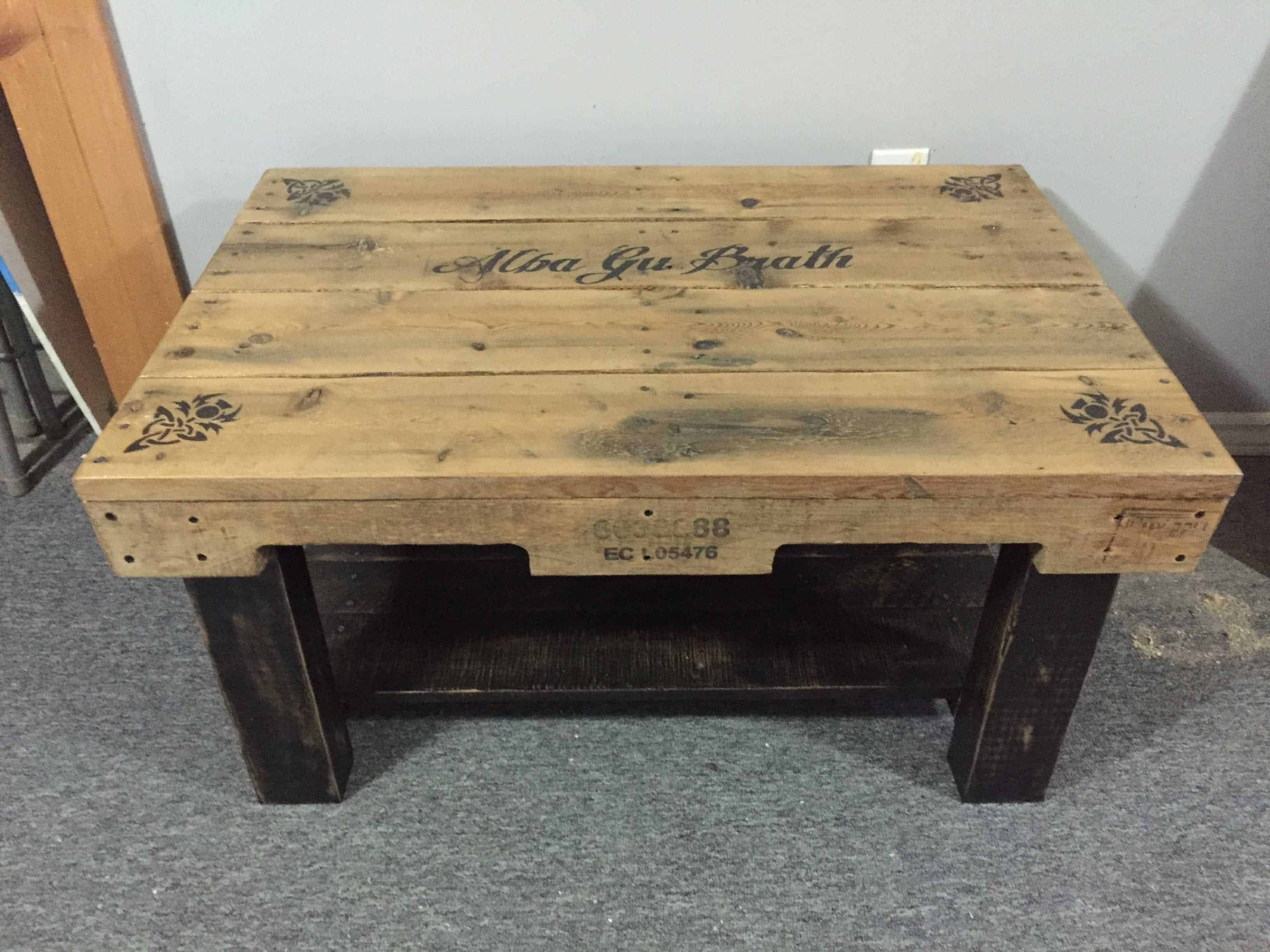 Celtic Pallet Coffee Table • 1001 Pallets