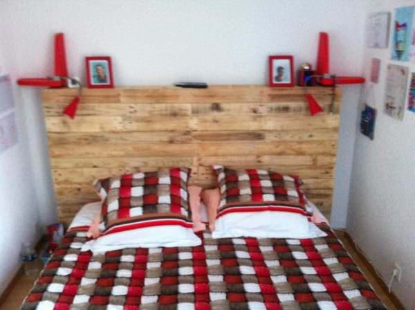 Charming Pallet Headboard DIY Pallet Beds, Pallet Bed Frames & Pallet Headboards