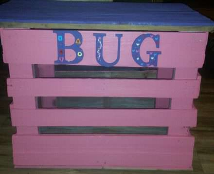 Customized Pallet Toy Box