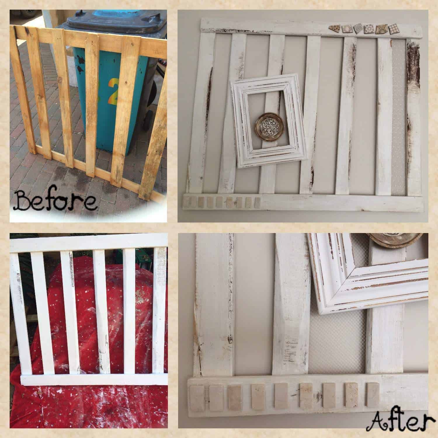 Decorative pallet wall art 1001 pallets for Pallet wall decor