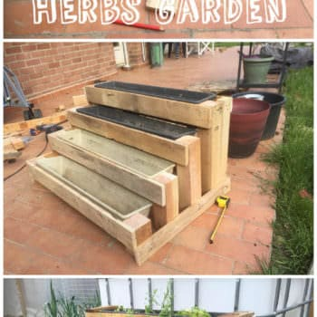 Diy: Pallet Stairs Planter