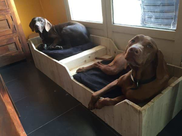 dogbed-from-pallets