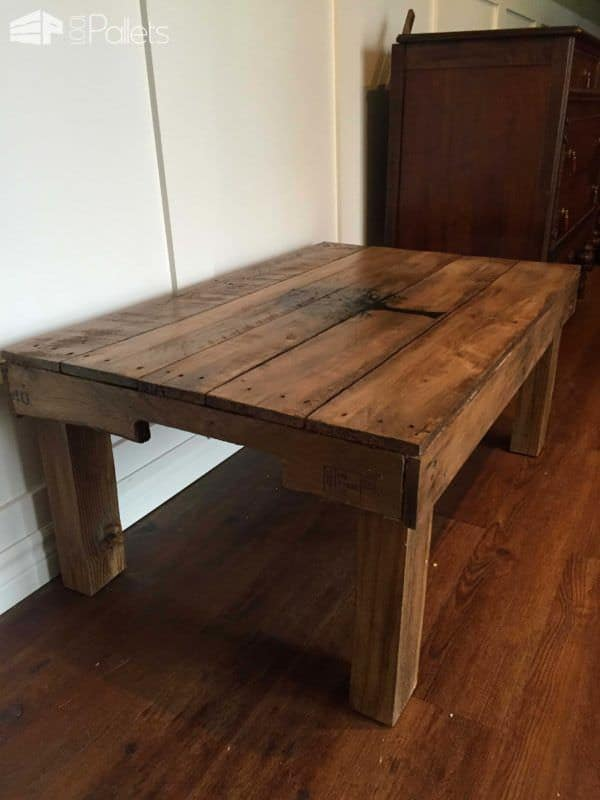 Fall Tree Pallet Coffee Table Pallet Coffee Tables