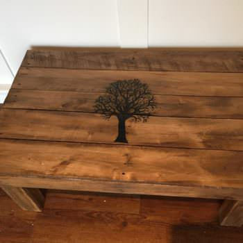 Fall Tree Pallet Coffee Table