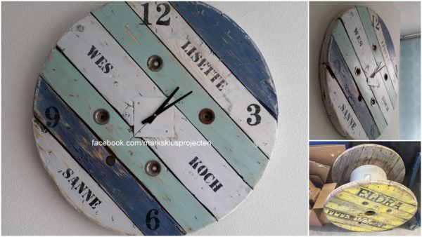 From Wirespool to Clock Pallet Clocks