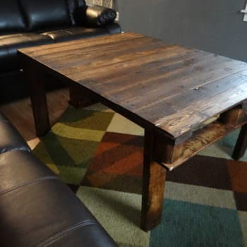 Hand-crafted Pallet Coffee Table