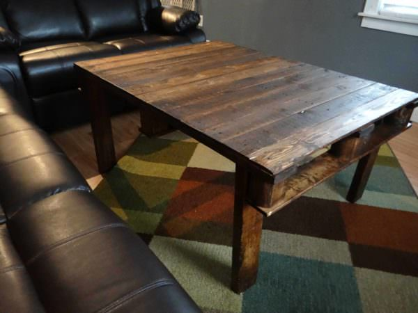 Hand-crafted Pallet Coffee Table Pallet Coffee Tables