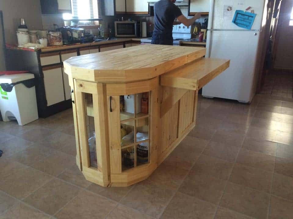 Handmade Kitchen Island 1001 Pallets