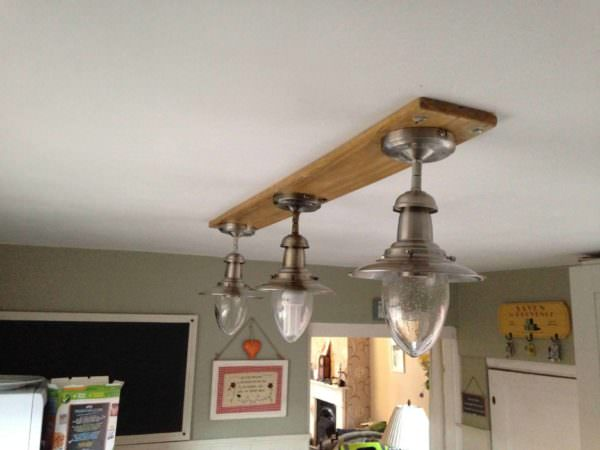 How I Made This Light Fitting for My Kitchen Pallet Lamps, Pallet Lights & Pallet Lighting