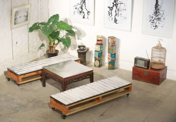 How to Combine Upcycled with Brand Furniture DIY Pallet Furniture