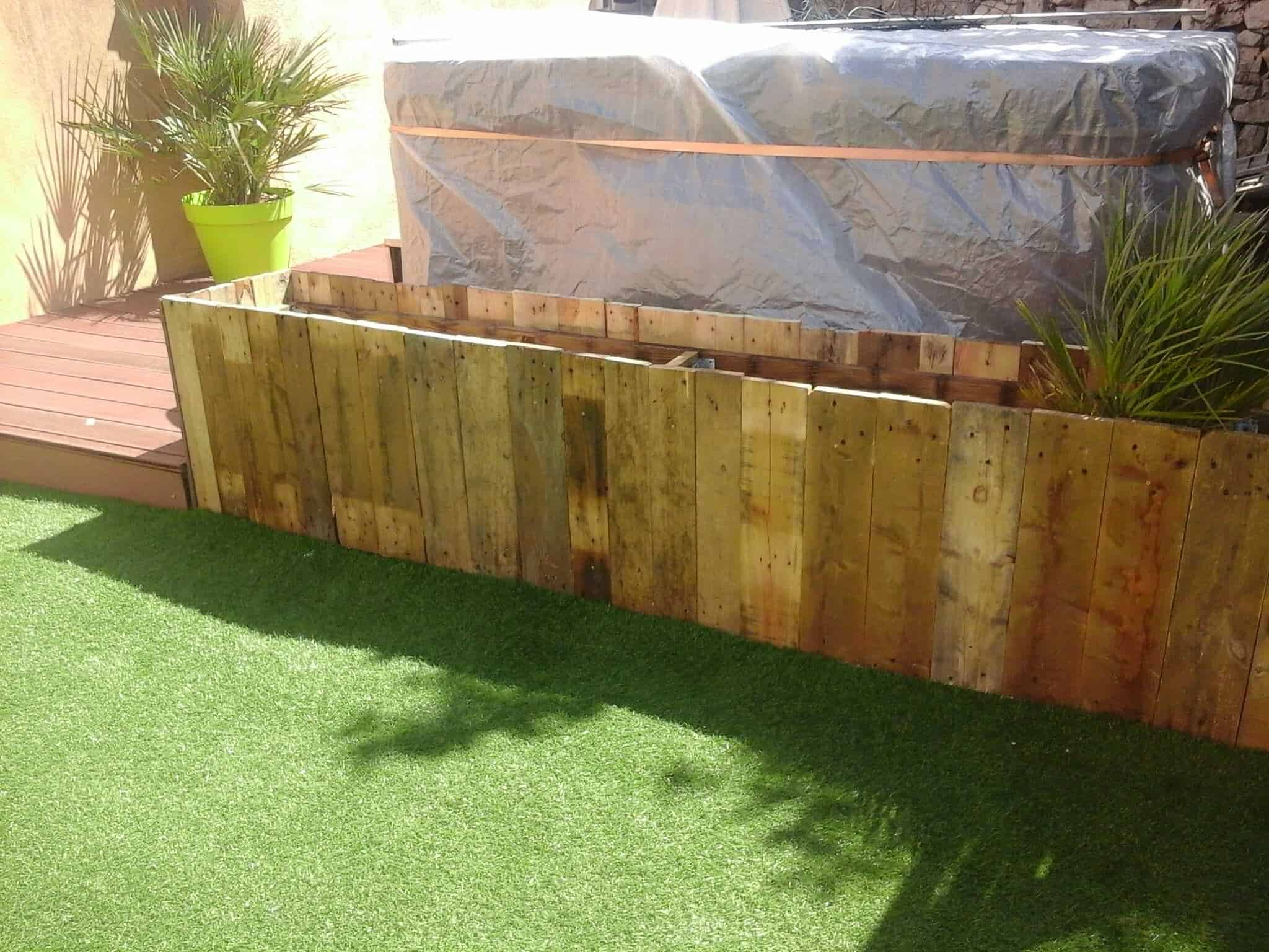 Jardiniere Large Pallet Planter Ideas 1001