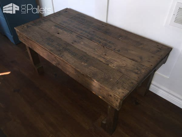 Military-inspired Pallet Coffee Table Pallet Coffee Tables