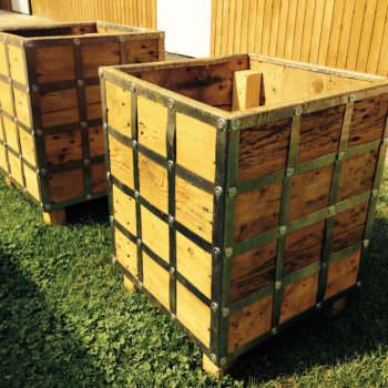 My Pallet Furniture for the Garden