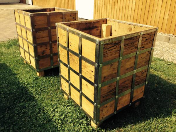 My Pallet Furniture for the Garden Pallets in the Garden