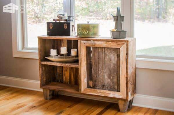 Pallet and Reclaimed Wood Decoration for a Contemporary House DIY Pallet Projects