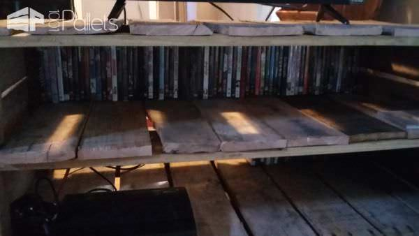 Pallet Entertainment Center Pallet TV Stands & Racks