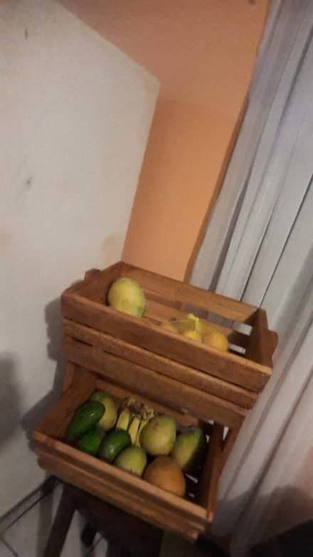 Pallet Fruit Rack