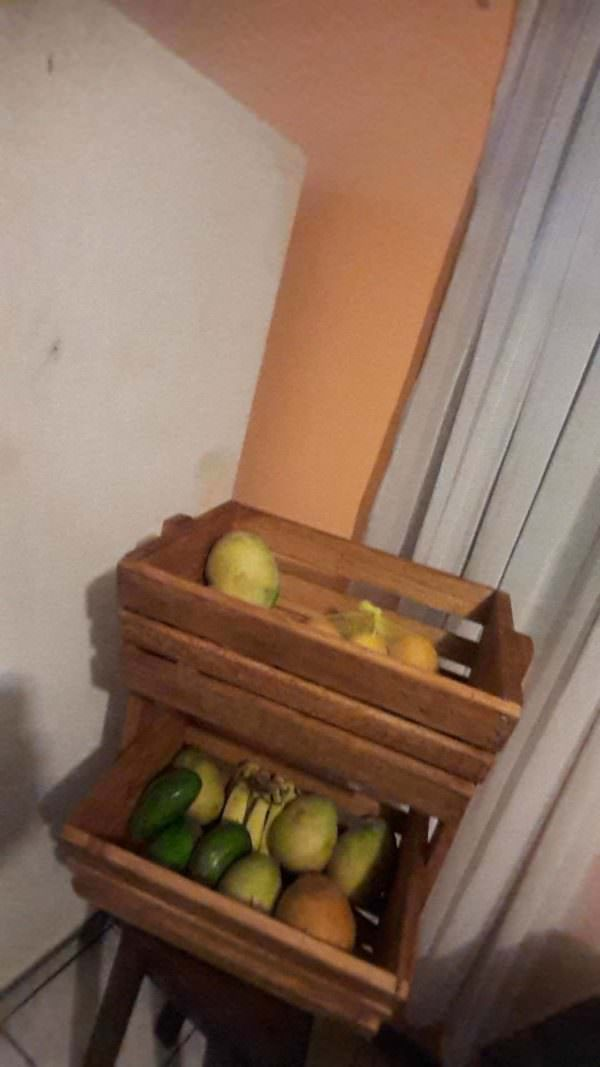 Pallet Fruit Rack Pallet Home Accessories