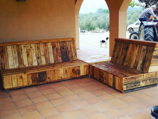 Pallet Patio Set Lounges & Garden Sets