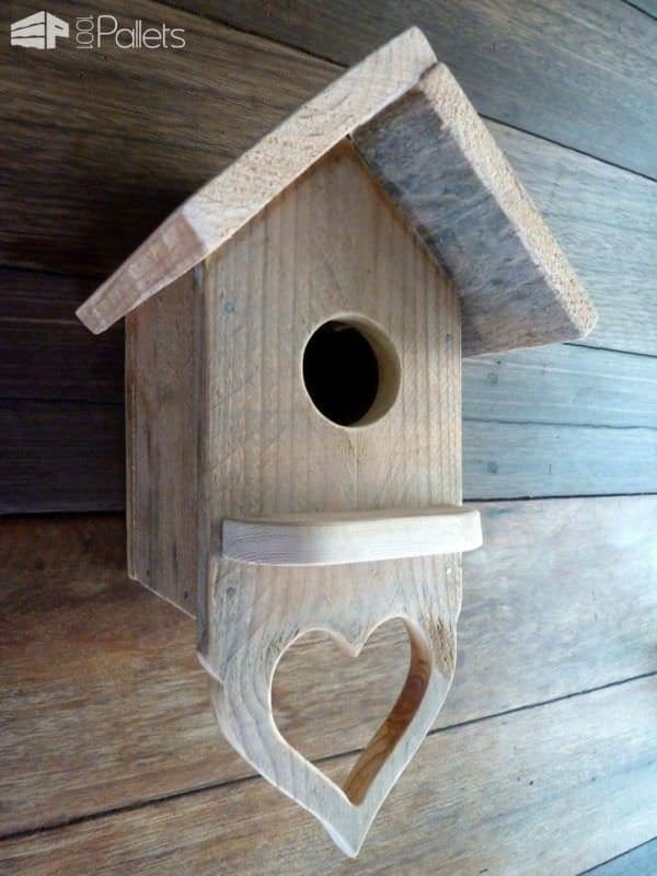 Pallet Serving Tray & Birdhouses Animal Pallet Houses & Pallet Supplies Pallet Home Accessories