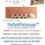 Palletpalooza™ New to the Kalamazoo Area, a Recycled Pallet Creation, Competition & Event