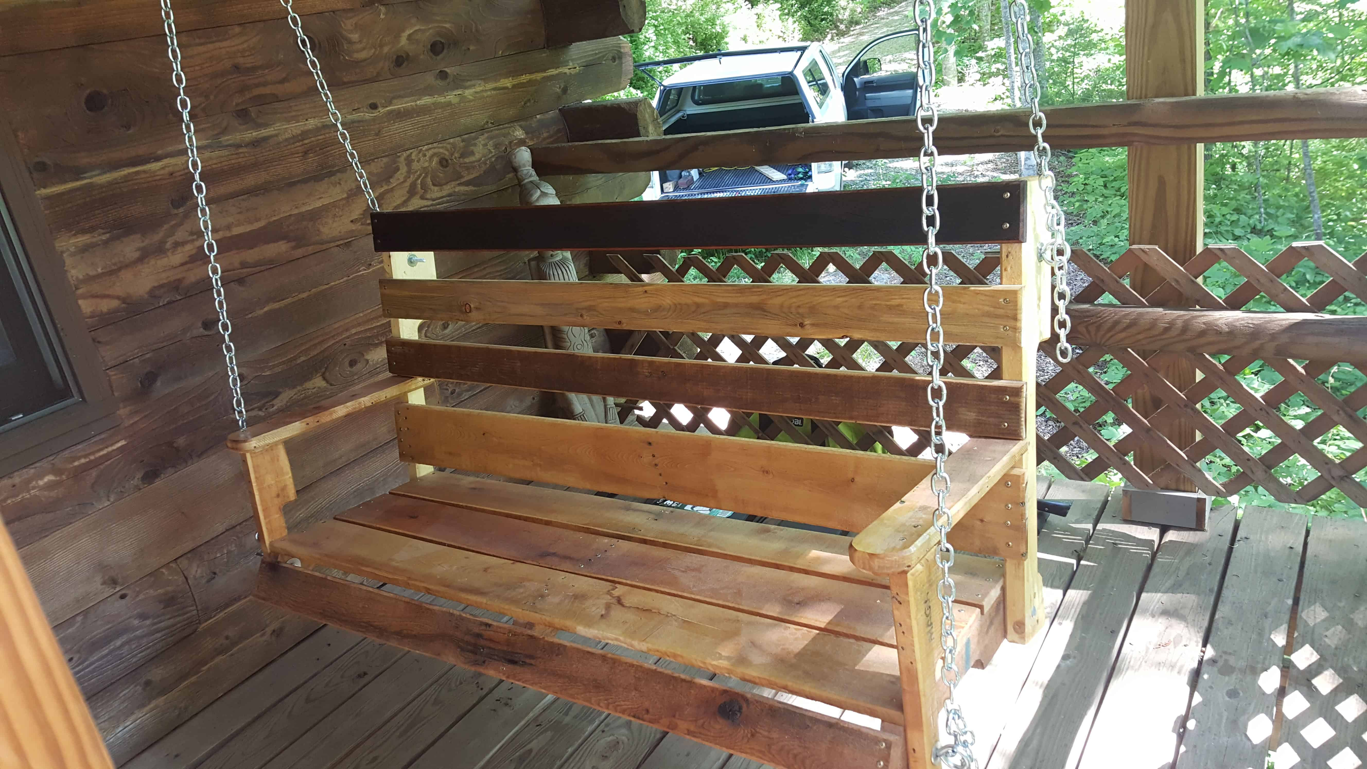 Porch Swing From Pallets 1001 Pallets