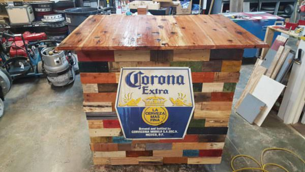 Portable Pallet Bar Pallet Bars