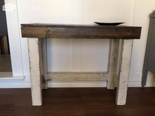 rustic sofa table pallet desks u0026 pallet tables