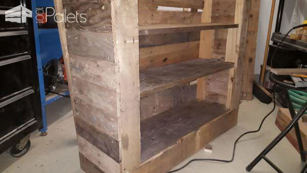 Simple and Efficient Pallet Bookshelf Pallet Bookcases & Pallet Bookshelves