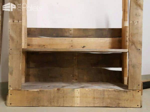 Simple and Efficient Pallet Bookshelf Pallet Bookcases & Bookshelves