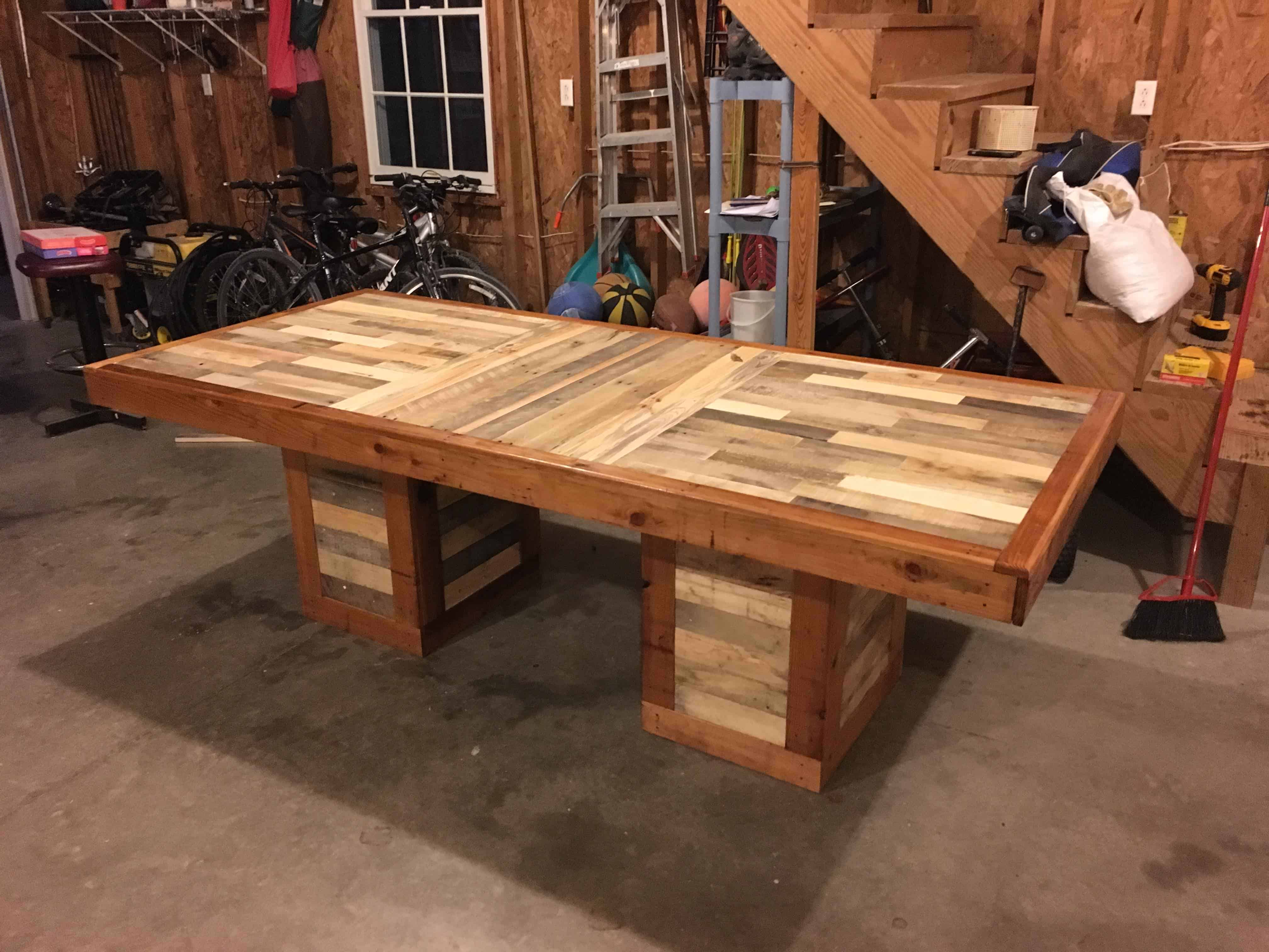 Diy Headboards Ideas Stunning Pallet Dining Table 1001 Pallets