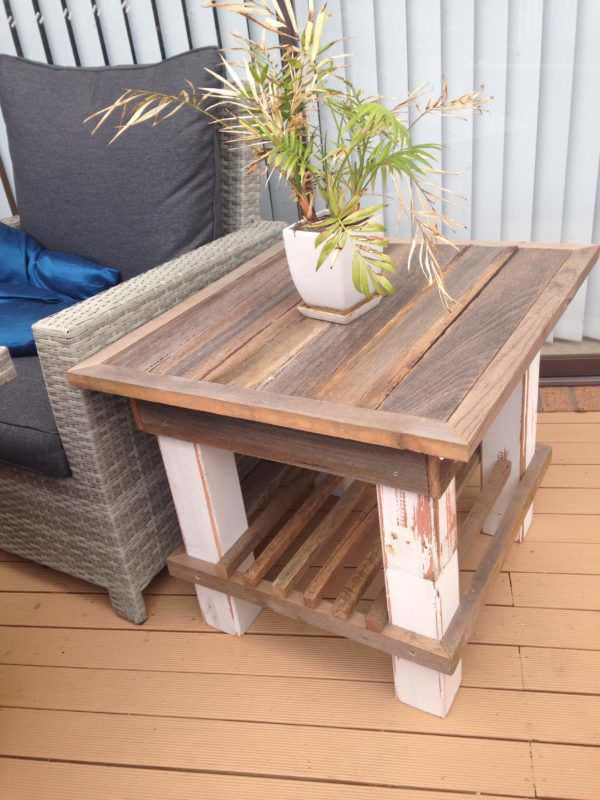 Sturdy Pallet Coffee Table Pallet Coffee Tables