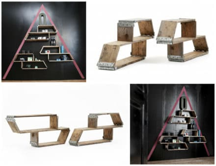 Amarhylde - Racking System Made from Recycled Pallets