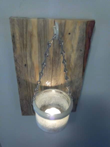 Applique Murale Rustique / Rustic Wall Lamp