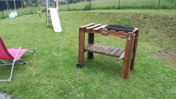 Barbecue / Pallet Bbq Table Pallet Desks & Pallet Tables