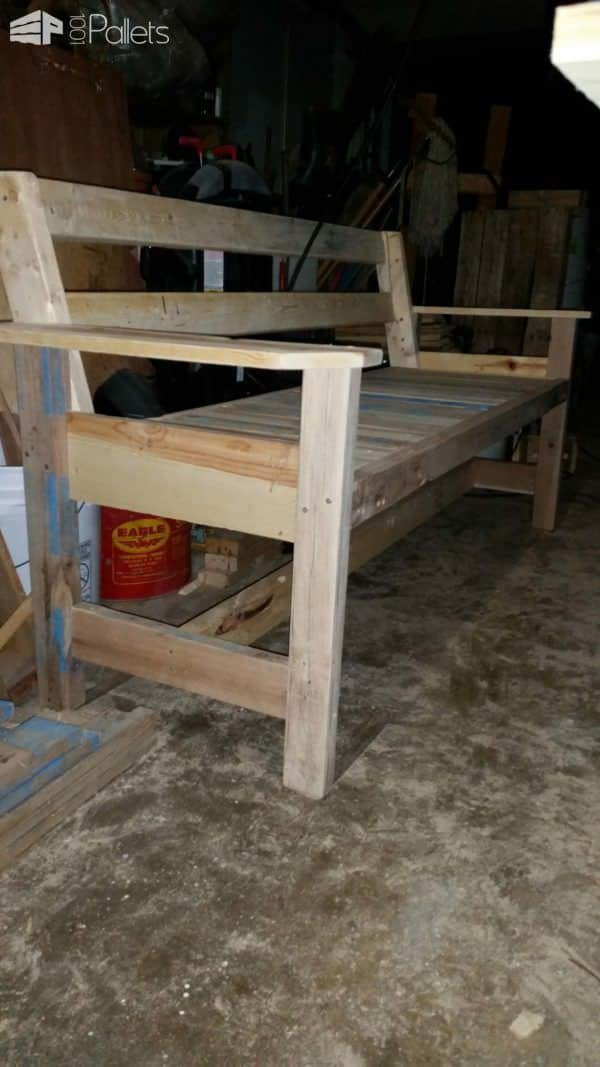Beautiful Pallet Bench Pallet Benches, Pallet Chairs & Pallet Stools