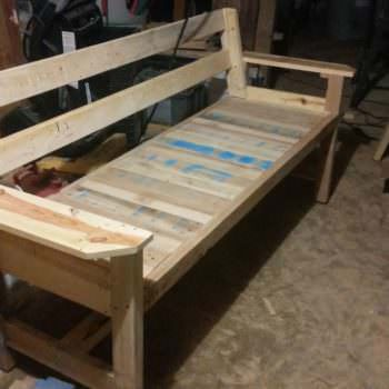 Beautiful Pallet Bench