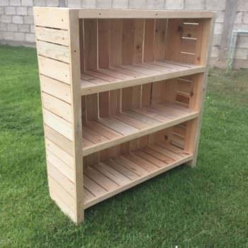 Beautiful Pallet Bookcase