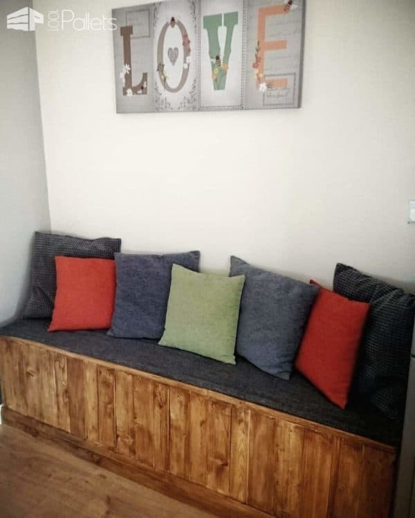 Bench Seat Pallet Benches, Pallet Chairs & Stools Pallet Boxes & Chests