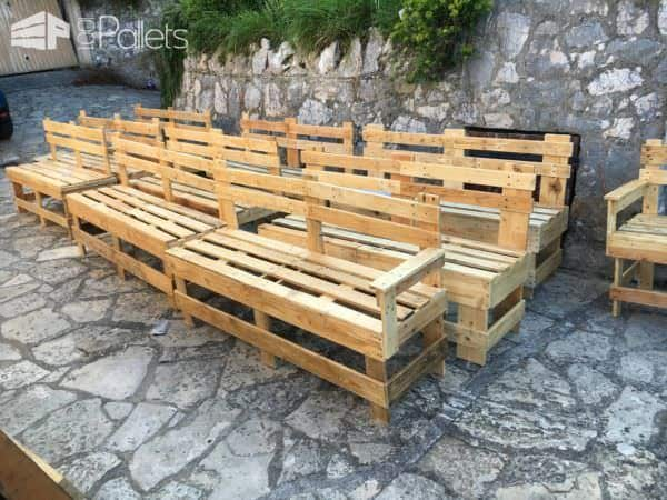 Benches for a Restaurant Pallet Benches, Pallet Chairs & Stools