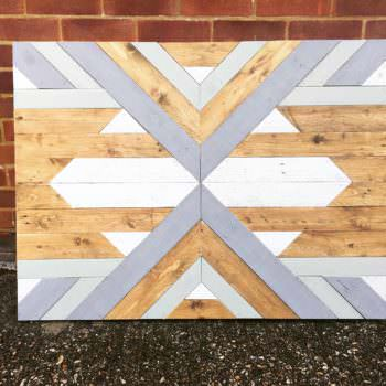 Chalk Paint Pallet Wall Art