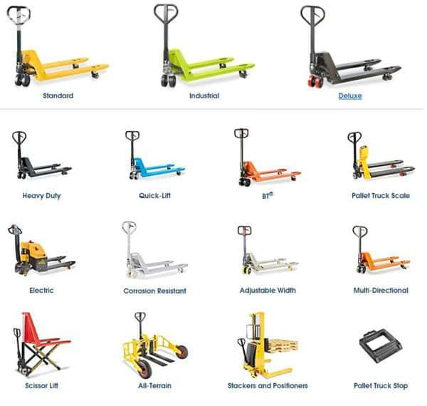 Tips for Buying a Hand Pallet Truck & Our Reviews of the 10 Best Pallet Jacks!