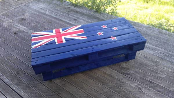 Flag Indoor/Outdoor Coffee Table Pallet Coffee Tables