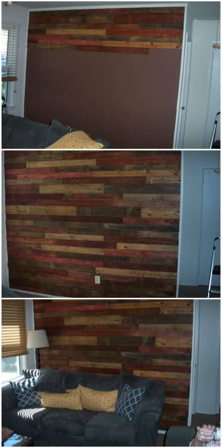 How I Made My Pallet Wall