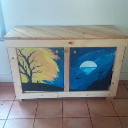 Play Table/Storage Chest For Our Daughter