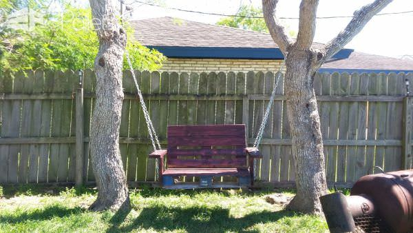 One Single Pallet Into a Garden Swinging Chair Pallet Benches, Pallet Chairs & Pallet Stools