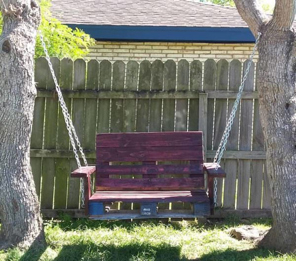 Garden Swinging Chair1