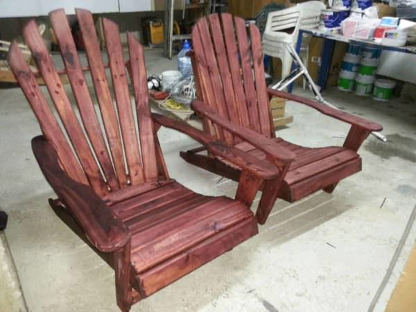 Pallet Adirondack Chairs • Pallet Ideas • 1001 Pallets