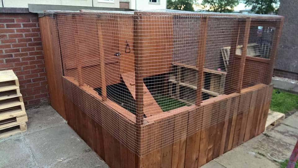 Pallet Chicken Coop 1001 Pallets